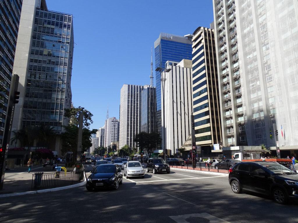 Fabulous Paulista Avenue in Sao Paulo